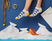 einzigartige artikel zum thema sneaker socken etsy. Black Bedroom Furniture Sets. Home Design Ideas