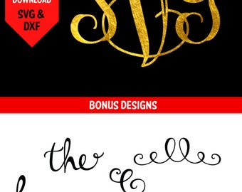 Vine Font svg/ Vine Monogram font/ Vine Monogram Decal/ Vine Monogram svg/ Interlocking Font/ Interlocking Font/ Interlocking Vine Font
