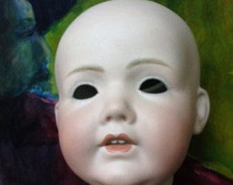 German antique reproduction porcelain head