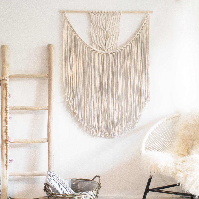 Extra Large Macrame Wall Hanging / Modern Macrame / Wall Art