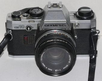 Olympus OM-10 SLR with 50mm f1.8 Prime Lens