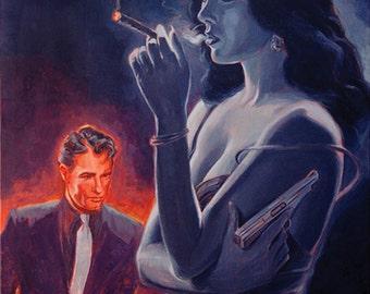 Men and Cigars Were the Same to Zelda - If Ya Got 'Em, SMOKE 'EM!