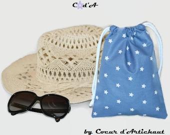 Waterproof bag for the beach or the pool / beach swimming pool bag