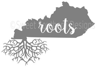 Kentucky roots SVG instant download design for cricut or silhouette