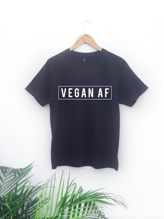 Unisex Vegan AF T-Shirt