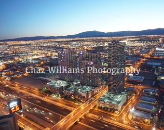Las Vegas Nights - Original Urban Photography  - City Lanscape Photo
