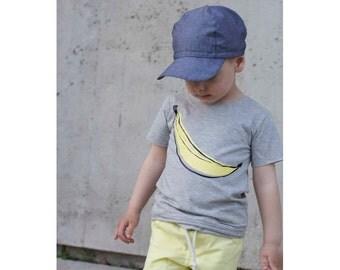 Kids T-Shirt Heather Grey BANANA