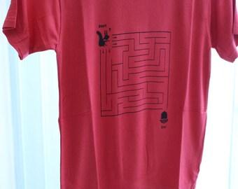 Children shirt brain frieze size 128