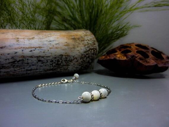 Pearl - Silver 925 bracelet