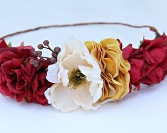 The Bo Flower Crown