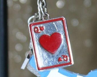 Queen of Hearts Charm