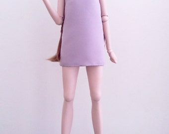 Blush Pink Bow Shift Dress for SD 1/3 BJD, Smart Doll & Dollfie Dream