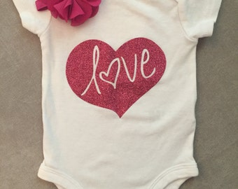 Love Heart Onesie