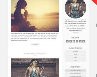 Aubrey Grace WordPress Template