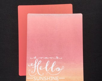 Happy Planner Cover - Hello Sunshine