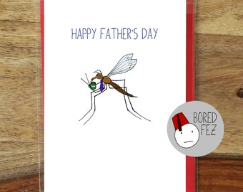 Daddy Long Legs | Funny Father's Day Card