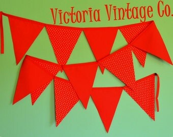 Pennant Banner - Red