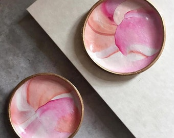 Pretty In Pink Jewelry Dish