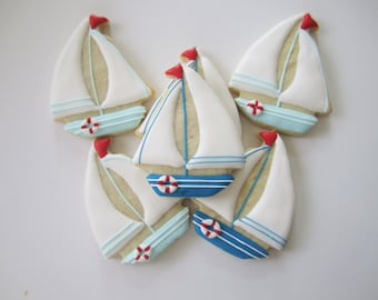 Sailboat cookies/boat cookies