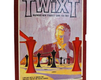 Vintage TWIXT Strategy Board Game, 1962 Edition