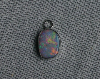 Gem opal pendant