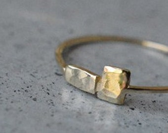 14k gold handmade hammered thin ring,14k gold thin ring,14k gold handmade delicate ring,hammered gold band