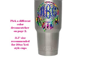 Custom Rtic Decal Etsy - Custom vinyl stickers for cups