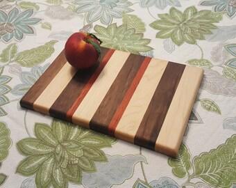 Small Handmade Hardwood Cutting Board