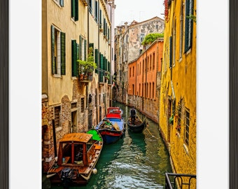 Venice Canal Art Print - Venice Photography - Venice Print - Grand Canal Photo - Travel Photography - Venice Wall Art - Venice Italy Art