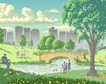 Summer (Central Park)