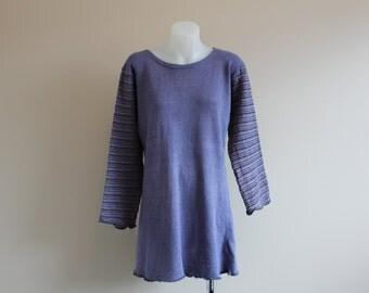 Purple Hippie Long Sleeve lightweight Knit Dress XS