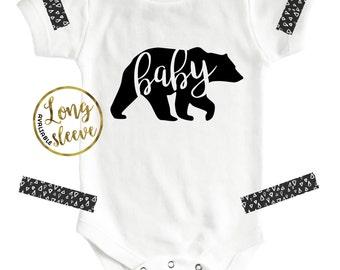 Baby Bear, Baby Bear Onesie®, Baby Bear Shirt, Bear, Baby Clothes, Bear Onesie, Toddler Shirt, Baby Onesie, Unisex Baby Clothes, Bear Shirts