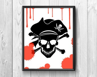 Pirates of the Caribbean movies. Disney.Wall poster.Adventure