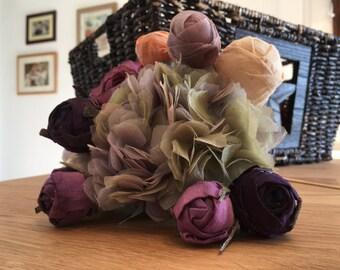 Purple lush petite bouquet