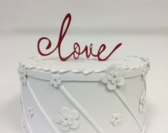 Red Caketopper Love
