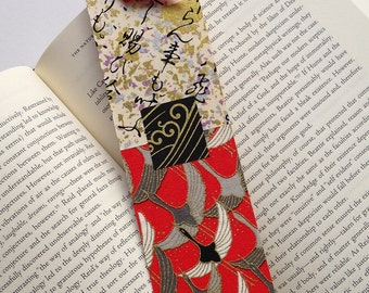 Crane Bookmark (red)