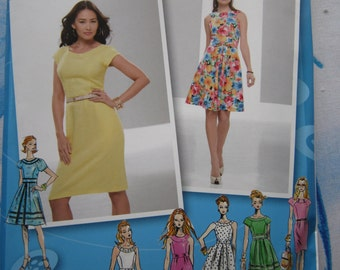 Simplicity 2588 Project Runway Dress Sewing Pattern 12-20