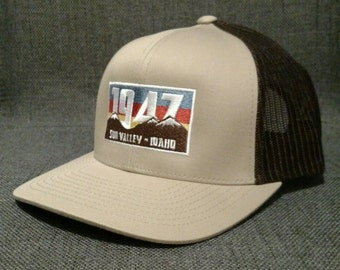 Sun Valley Idaho 1947 Trucker Hat / Cap