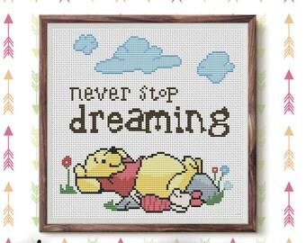 Disney Cross stitch pattern pdf GET 2 BUY 1 FREE winnie the pooh cross stitch pattern  modern cross stitch pattern kids cross stitch pattern