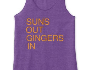 Redhead- Ginger: Sun's out, Gingers in Tank