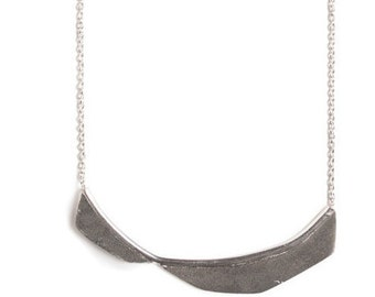 Necklace, collection rock / / geometric - minimalist jewelry