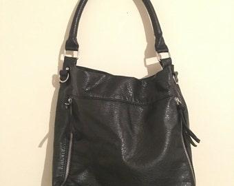 Black Bueno Leather Purse