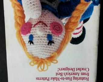 Vintage crochet patterns, crochet doll pattern,vintage  Annie's crochet newsletter, crochet patterns booklet, rag doll pattern