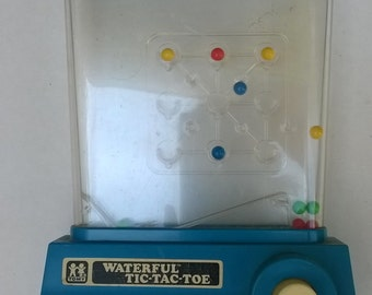 Tomy Waterfall Tic Tac Toe Game from 1976