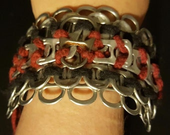 Multi-Tiered Pop Tab Bracelet