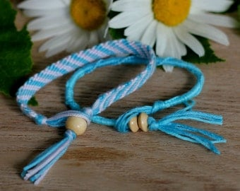 Fresh Air set of two friendship bracelets