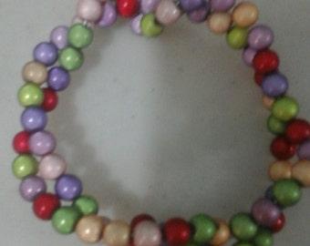 Bracelet: The multicoloured
