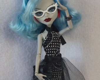 "Monster High clothes - Monster High outfits - EAH outfits - Monster High dress "" Black Lily"""