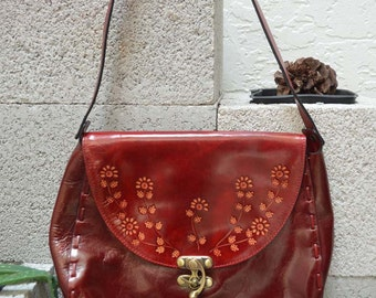 Red Floralette