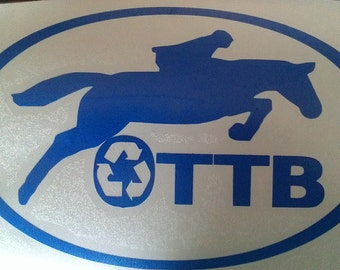 Vinyl OTTB sticker